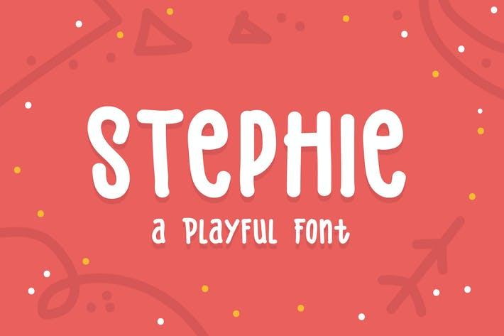 Thumbnail for Stephie Typeface - Playful Font