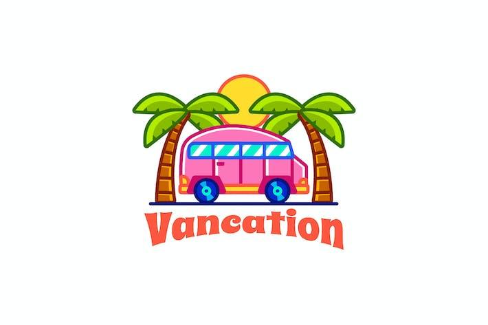 Thumbnail for vacation van - Mascot Logo