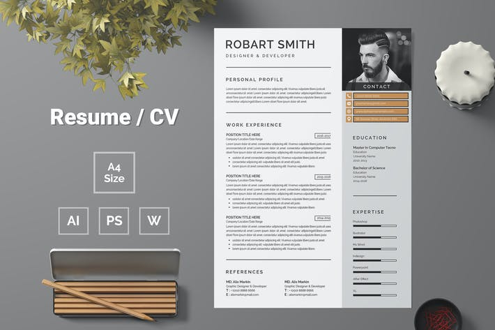 Thumbnail for Resume Template 71