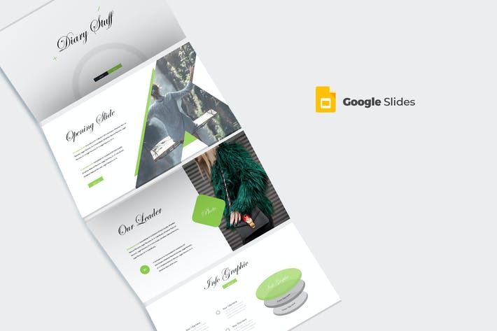 Diary - Google Slides Template by aqrstudio on Envato Elements