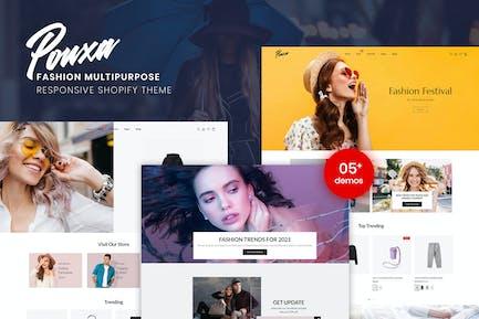 Pouxa   Fashion Multipurpose Shopify Theme