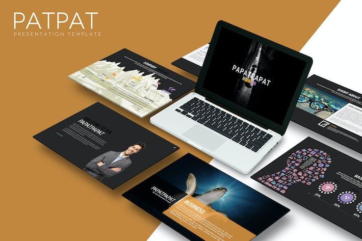 Thumbnail for Patpat - Keynote Template