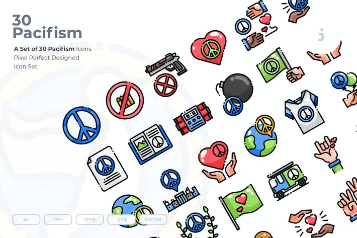 Thumbnail for 30 Pacifism Icons