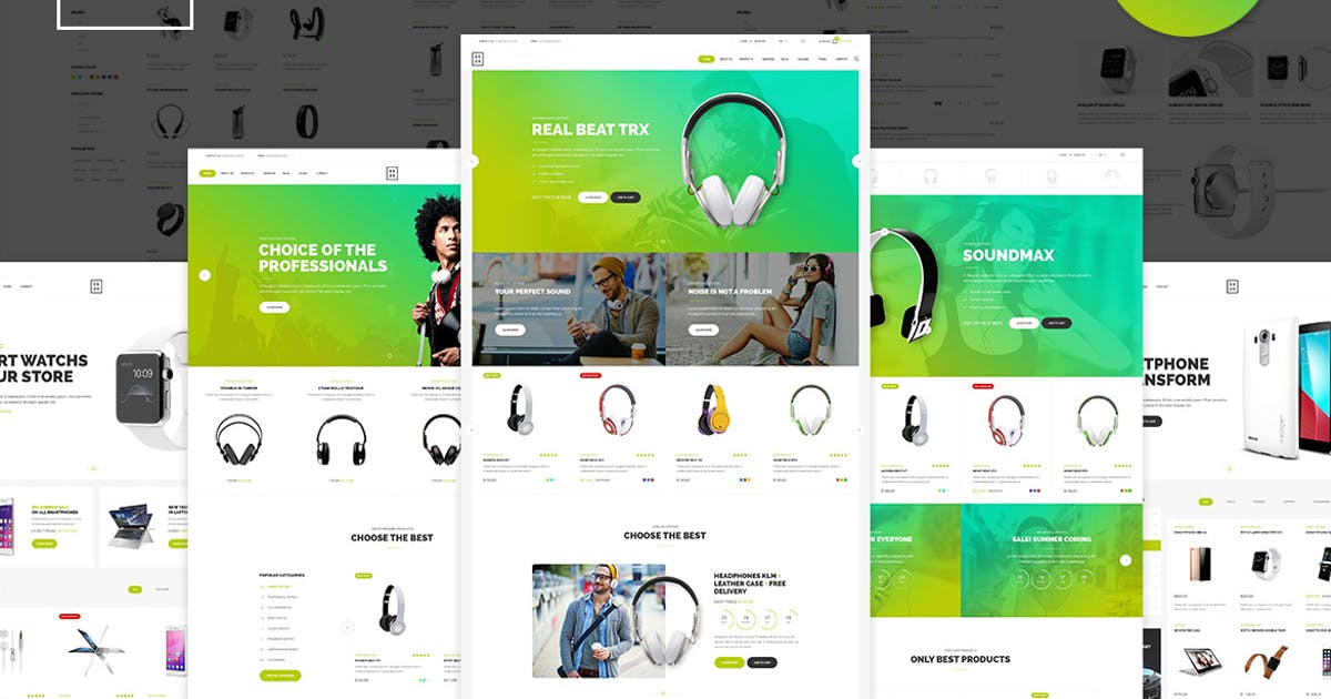 Download Exzo - Electronics eCommerce HTML Template by UnionAgency
