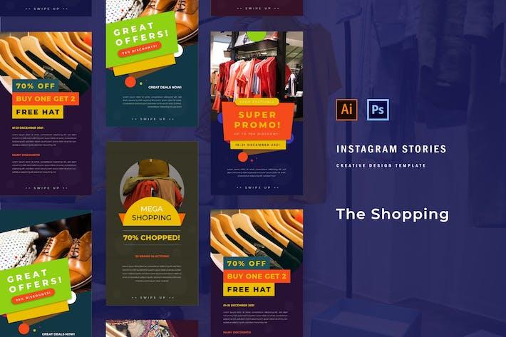Thumbnail for Shopping Festival Instagram Story