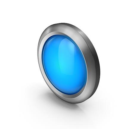 Икона бисера синий