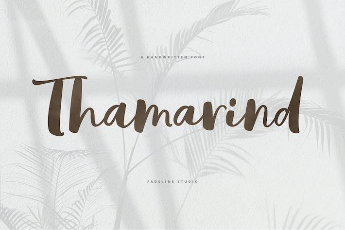 Thumbnail for Thamarind Handwritten Font