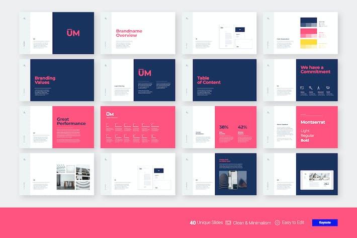 Thumbnail for Brand Guidelines Presentation - PPT