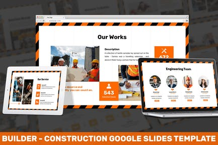 Builder - Construction Google Slides Template