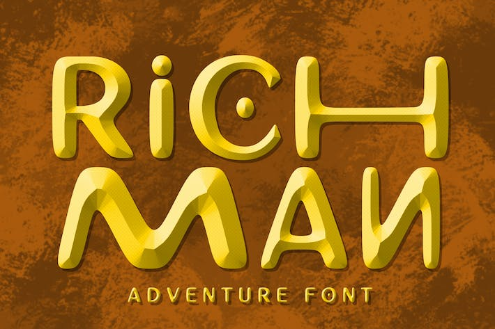 Thumbnail for Richman Adventure Font