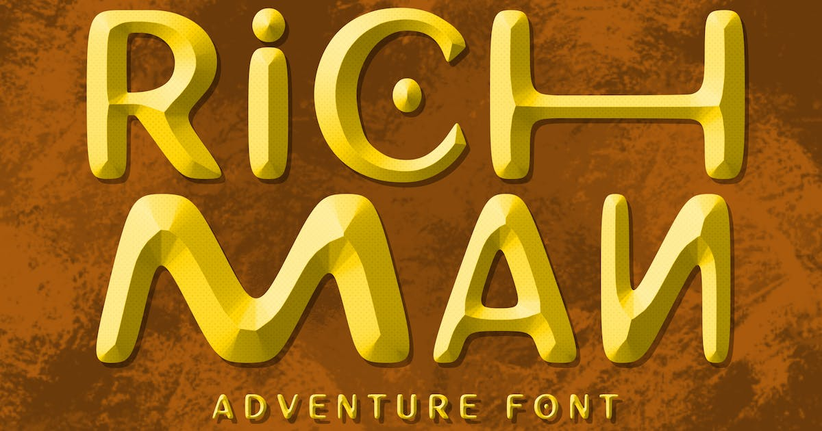 Download Richman Adventure Font by shirongampus