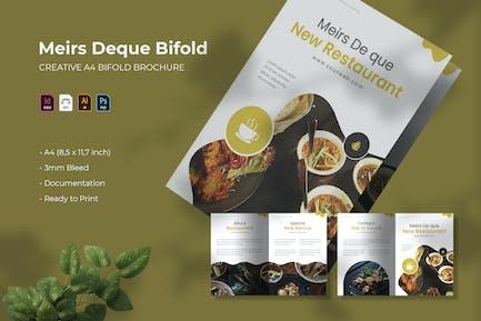 Meirs Deque | Bifold Brochure