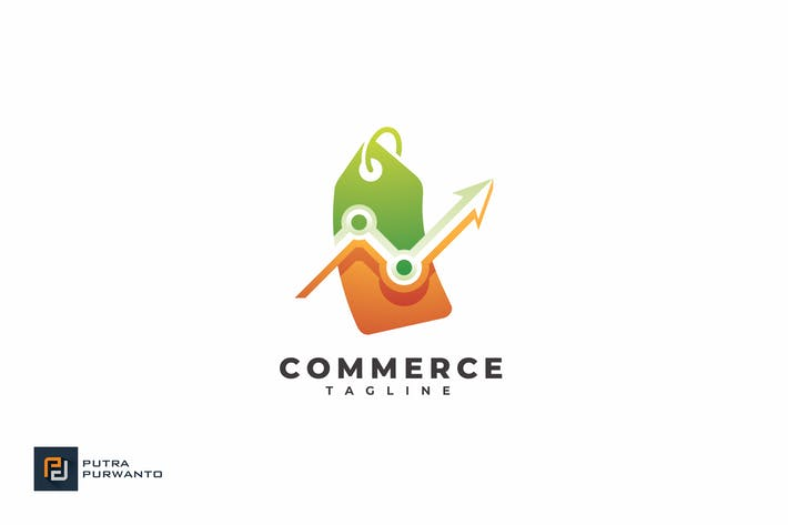 Cover Image For Commerce - Logo Template