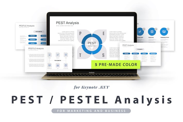 Thumbnail for PEST / PESTEL / PESTLE Analysis Keynote