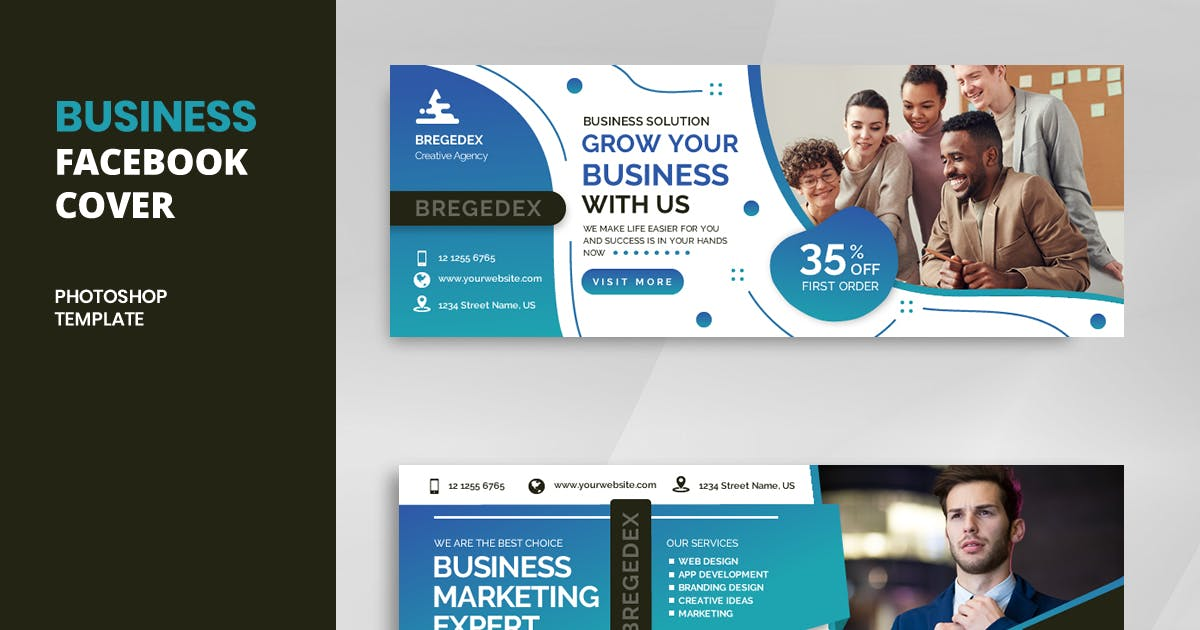 Download Business r14 Facebook Cover Template by youwes