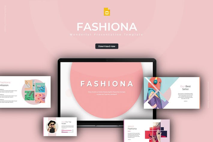 Thumbnail for Fashiona - Google Slides Template