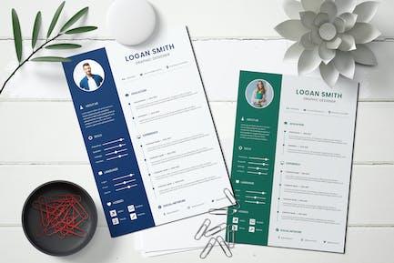 CV Resume Professional Template
