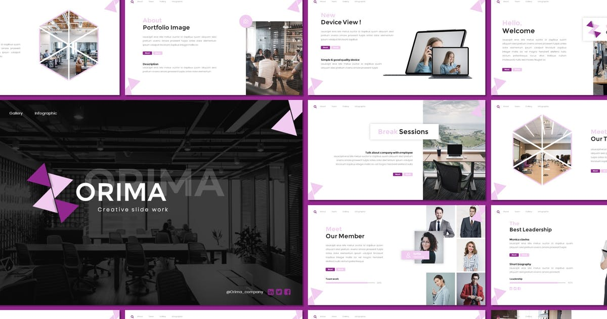 Download Orima - Business Keynote Template by inspirasign