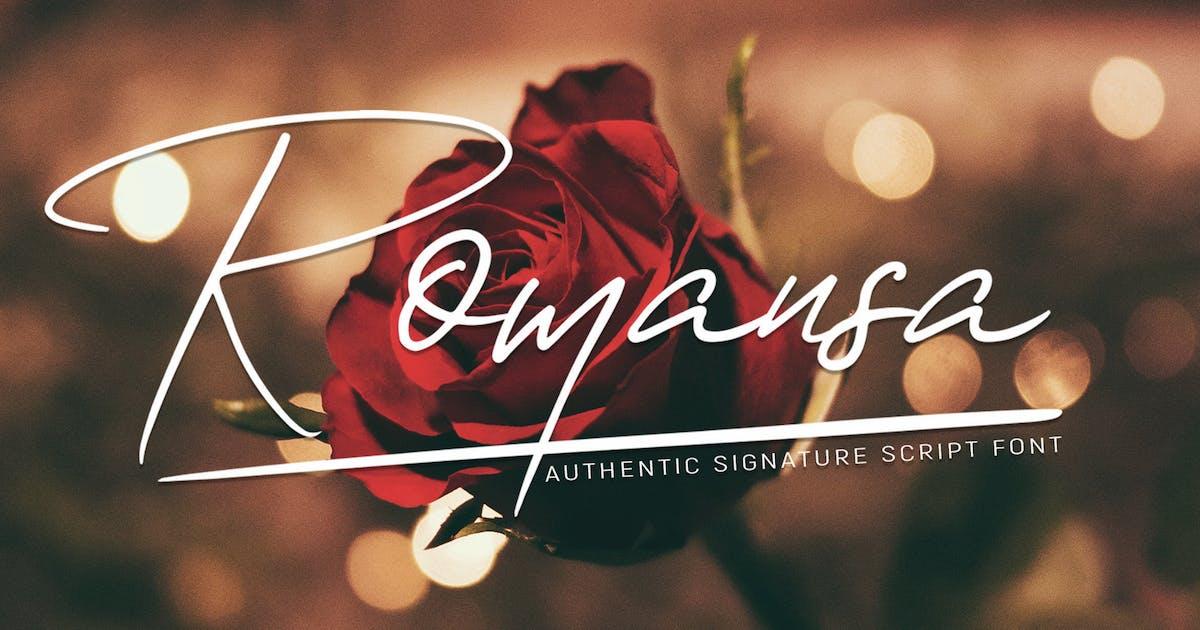 Download Romansa by LetterStockStd