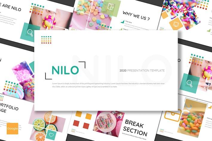 Thumbnail for Nilo - Конфеты Google Слайды Шаблон