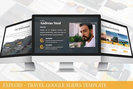Exploid - Travel Google Slides Template