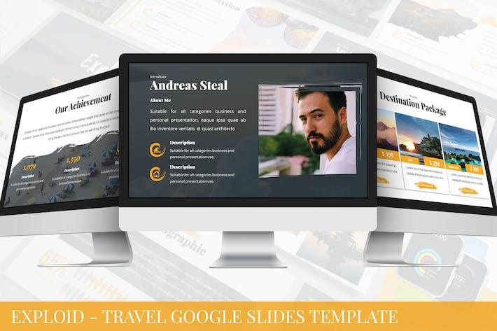 Thumbnail for Exploid - Travel Google Slides Template