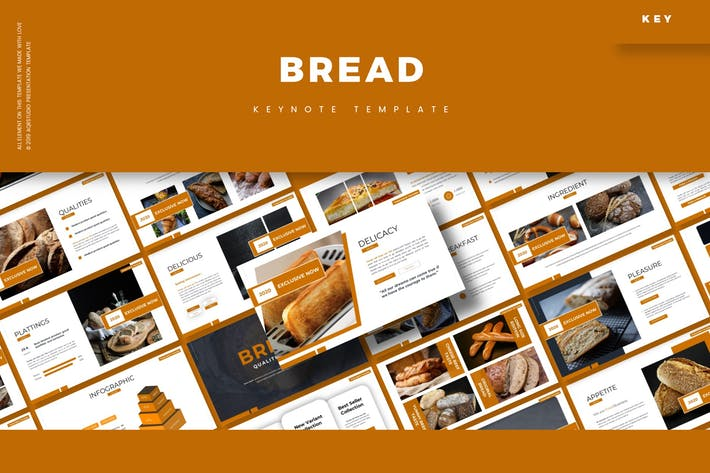 Хлеб - Шаблон Keynote