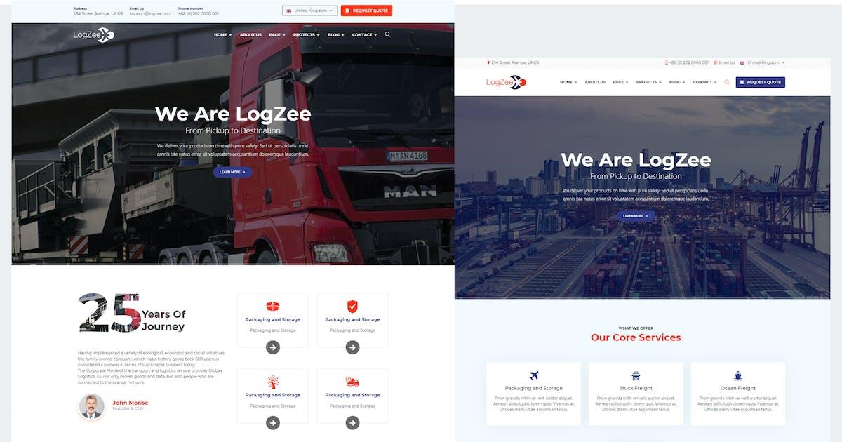 Download Logzee - Logistics Cargo WordPress Theme by shtheme