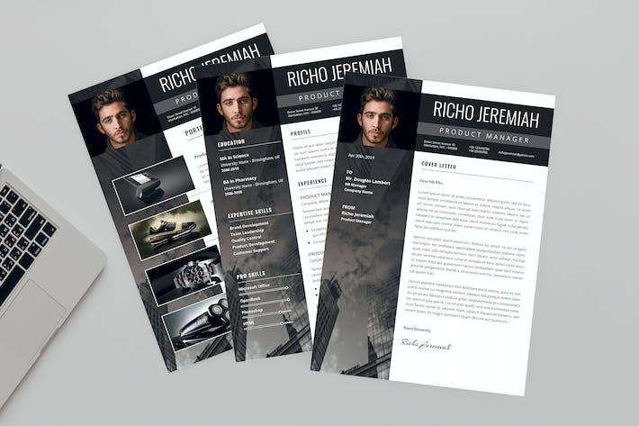 Cover Image For Gleam Resume Designer
