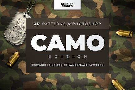 3D Camo Tarnmuster