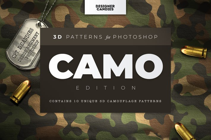 3D Camo Camouflage Patterns