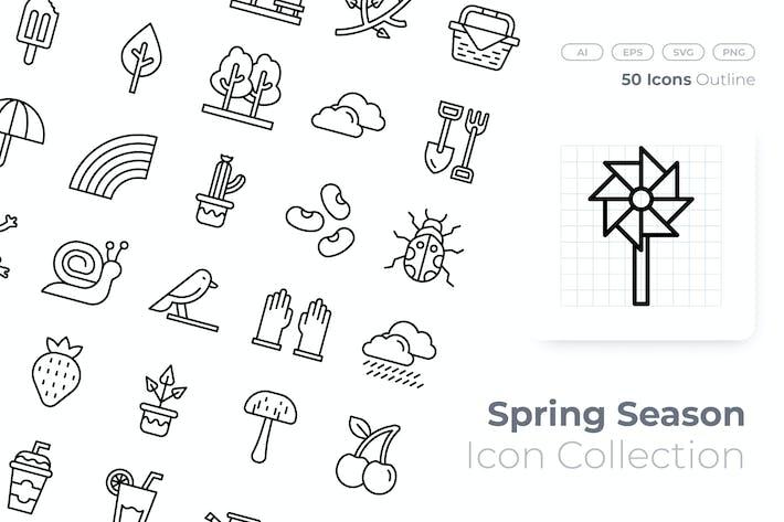 Thumbnail for Symbol für die Frühlingssaison