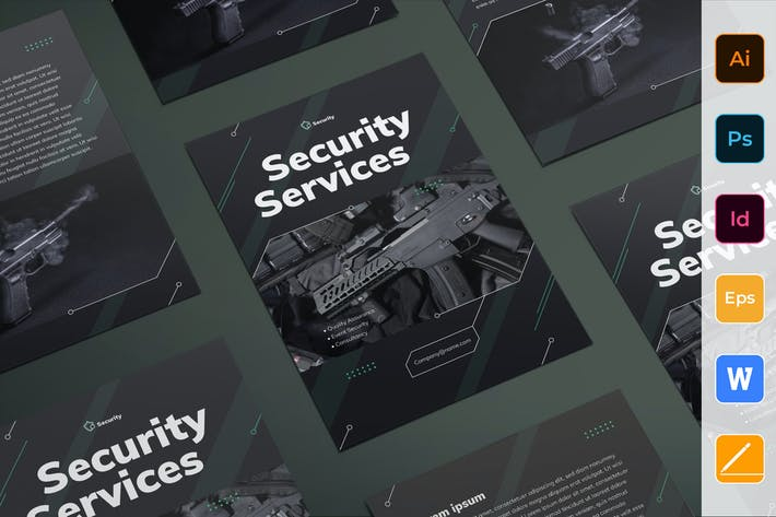 Thumbnail for Security Services Flyer