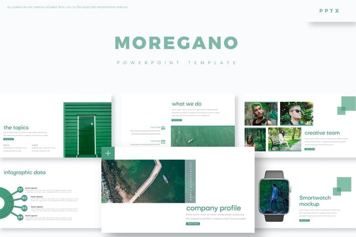 Cover Image For Moregano - Powerpoint Template