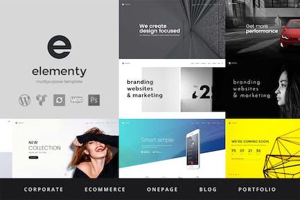 Elementy - Multipurpose WordPress Theme
