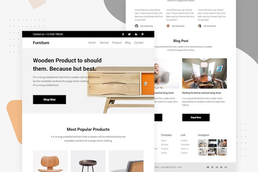 Furniture Sale - Email Newsletter