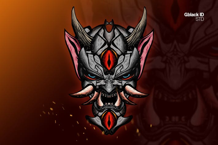 Thumbnail for Oni Mask