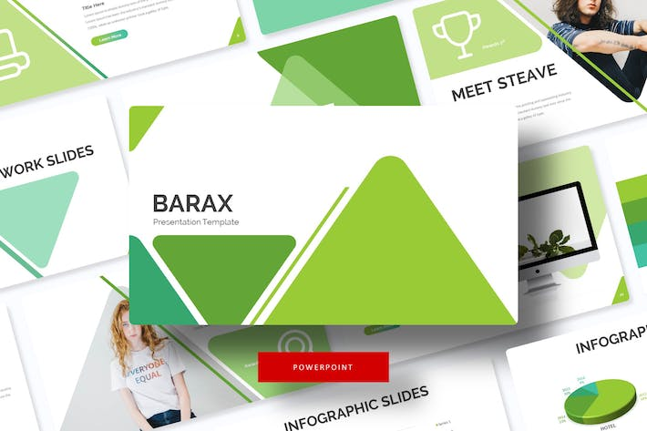 Thumbnail for Barax - Power Point Template
