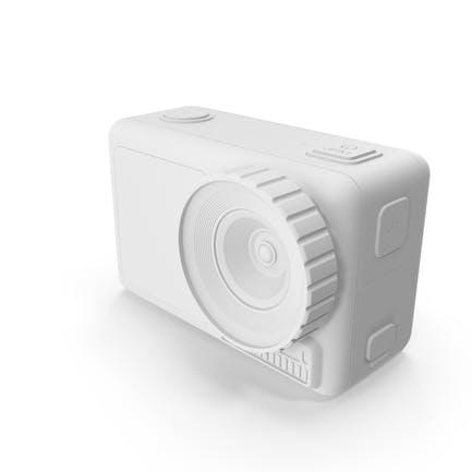 Action Camera White