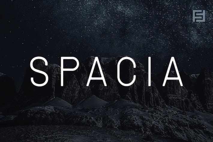 SPACIA - Unique & Modern Display Typeface