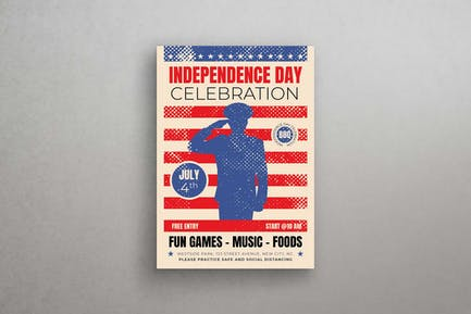 Independence Day Celebration Flyer