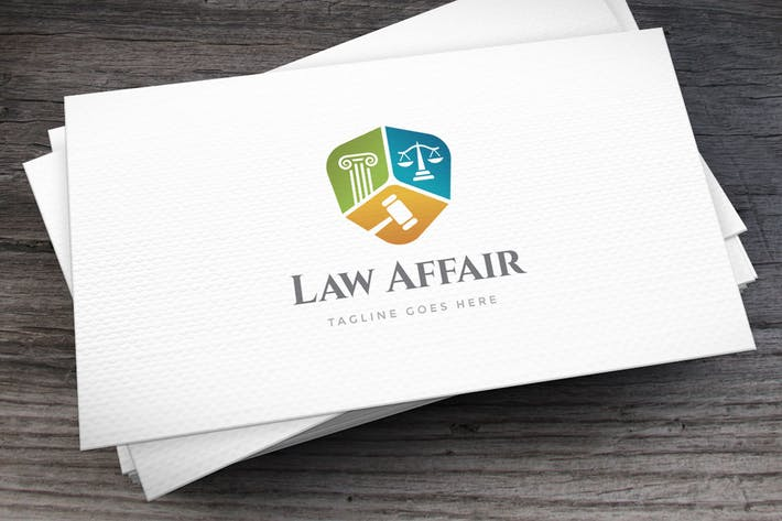 Thumbnail for Law Affair Logo Template