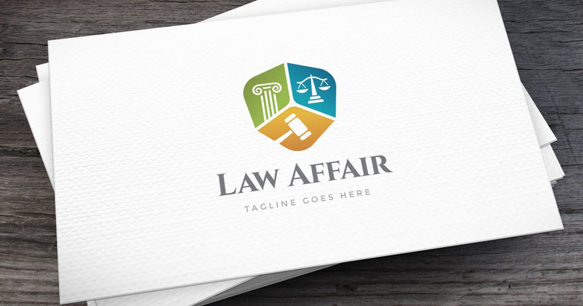 Download Law Affair Logo Template by empativo