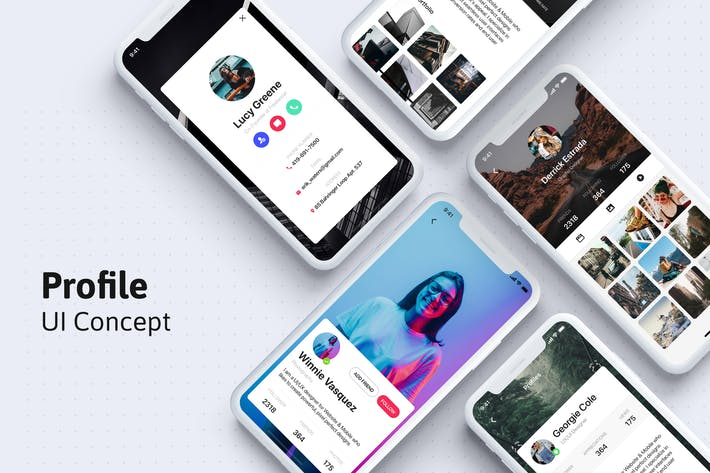 Thumbnail for Profile UI app template