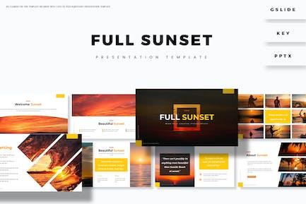 Full Sunset - Plantilla Presentación