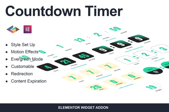 Thumbnail for Countdown Timer Elementor Page Builder Addon