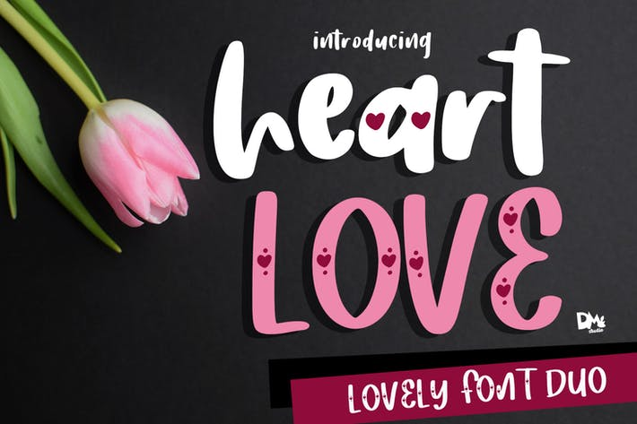 Thumbnail for Corazón Amor - Crafty Lovely Font Duo