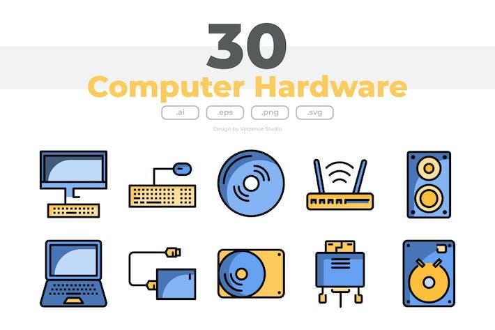 Thumbnail for 30 Icons für Computerhardware