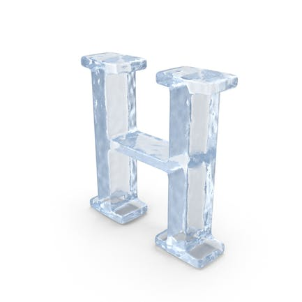 Ice Capital Letter H
