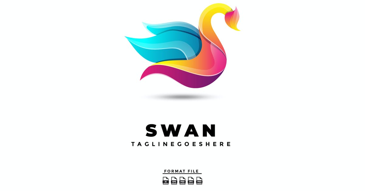 Download Swan Gradient Logo by jeckishit